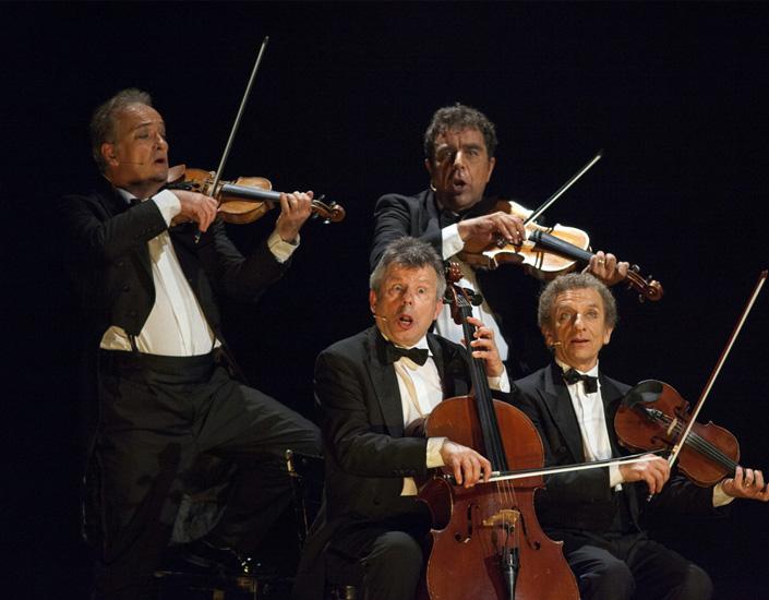 Le Quatuor : Bouquet Final