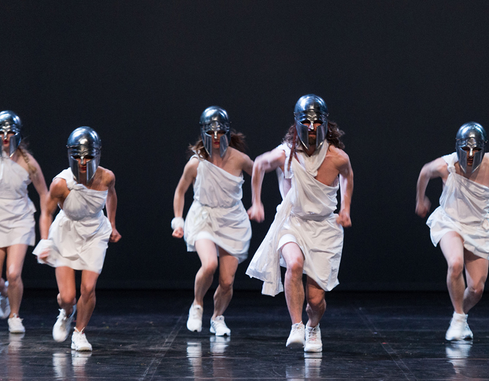 Mount Olympus. A 24 hour performance.