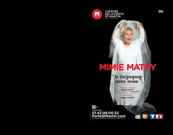 Mimie Mathy : Je (re)papote avec vous
